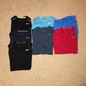 Nike Mens Pro Combat Training Shirts